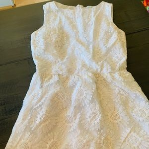 June and Ivy sz m white dress
